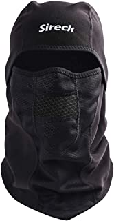 Sireck Cold Weather Balaclava Ski Mask, Water Resistant and Windproof Fleece Thermal Face..