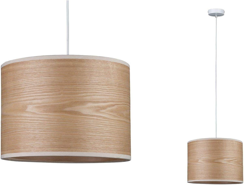 Paulmann 79630 Neordic Neta Pendelleuchte max. 1x20W Hngelampe für E27 Lampen Deckenlampe Wei 230V Holz Metall ohne Leuchtmittel