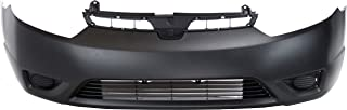 Front Bumper Cover for HONDA CIVIC 2006-2008 Primed Coupe