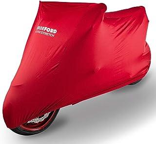 Oxford CV176 PROTEX Stretch Passform Premium Stretch Passform Innenraum Motorrad Abdeckung   Rot, Large