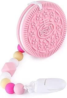 mxdmai Beb/é Beb/é juguetes para la dentici/ón de silicona suave segura de frutas Mordedor libre de BPA no t/óxico beb/é Juguete del Chew del palillo para ni/ños peque/ños y beb/és Estilo pi/ña