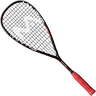 MANTIS Unisex's SQR505 Power Iii Squash Racket, Black and Red, 27 inch