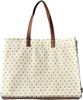 Maika Carryall Tote Bag, Dots Gold