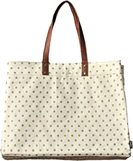 Maika Carryall Tote Bag, Dots Gold