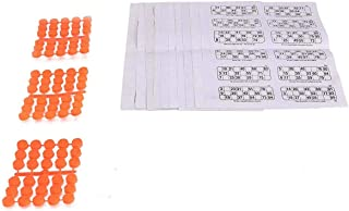 Pmw - Classic Tambola Housie Book Pages ( 6 x 600 Tickets, 3600 Tickets + Coins ) - Coins Random Colour - Jaldi 5