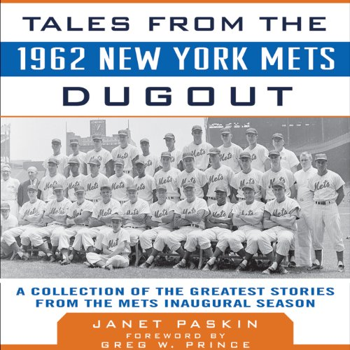 Page de couverture de Tales from the 1962 New York Mets Dugout