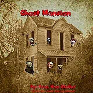Ghost Mansion audiobook cover art