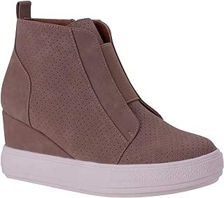 Shoes Women's Hidden Heel Fashion Wedge Sneakers