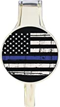 US Flag Thin Blue Line Everything Purse Hanger Handbag Hook Retractable Folding