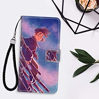 Case for iPhone 11 6.1 Inch Wallet with Stand Flip Card Credit Hold Full Body Protective Cover Jim Hawkins Treasure Island Animated Movie Wallpaper Ultra