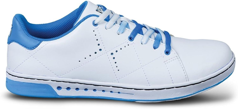 KR Strikeforce Women's Gem Bowling shoes, White bluee, Size 7
