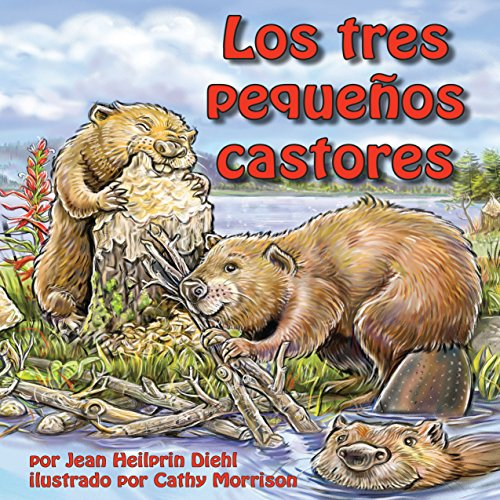 Los tres pequeños castores [The Three Little Beavers] copertina