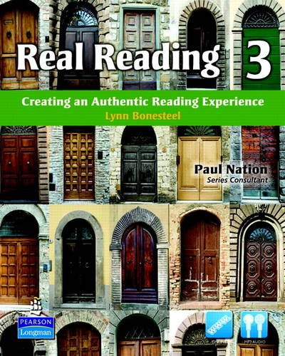 REAL READING 3 STBK W / AUDIO CD 714443