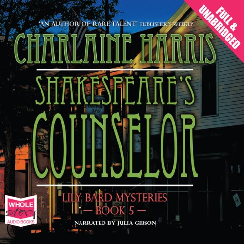Shakespeare's Counselor cover art
