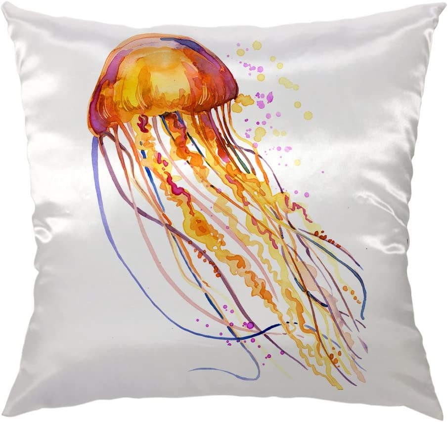 Moslion Jellyfish Pillow Cover Cash special price Home Case 2021 new Decorative Throw