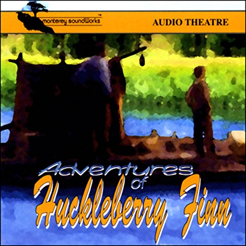 Adventures of Huckleberry Finn (Dramatized) audiobook cover art