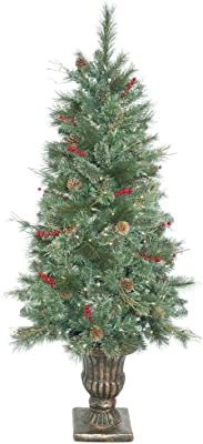 Vickerman Bristol Pine Series Christmas Tree, B168756LED