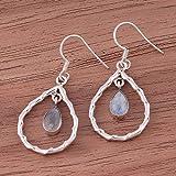 Argent sterling 925, Boucles d'oreilles pendantes, Boucles d'oreilles en pierre de...