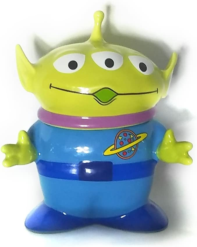 Disney Special price for a limited time Toy Story Alien Mug with security sugar cream bowl Lid figure