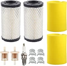 Hayskill 793569 793685 Air Filter/Pre Filter Tune Up Kit for Briggs and Stratton John Deere GY21055 MIU11511 B LA125 D120 Intek Series 20-21 Gross HP Lawn Mower Tractor