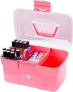 Babysbreath17 Main Tenue de Bureau Boîte de Rangement en Plastique Ciseaux de Maquillage Organisateur Bijoux Nail Pen manu...