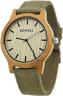 Natural Madera Reloj Estilo Casual Reloj de Pulsera Japón Movt Reloj de Cuarzo Reloj de Peso Ligero para Hombres Mujeres