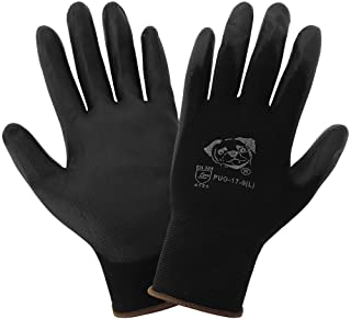 Global Glove PUG-17 - Lightweight Seamless General Purpose PU Dipped Glove - Large - (Case of 144)