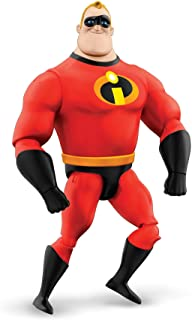 Pixar Interactables Mr. Incredible Talking Action Figure, 8-in Tall Highly Posable Movie Character Toy, Interacts with Oth...