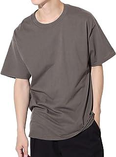 Hanes(ヘインズ) BEEFY-T Tシャツ ビーフィー 半袖 コットン 無地 US規格 XL スモーキーグレー
