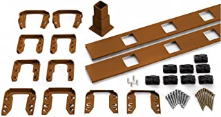 Trex Transcend 91.5 in. Composite Tree House Square Baluster Stair Accessory Kit