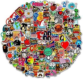 200-Pieces Cool Random Stickers Vinyl Skateboard Stickers