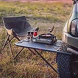 Reifencamping-Tisch, Reifen-Diy-Tisch, Reifen-Auto- / LKW-Tisch, Fahrzeug-Camping-Reise-Tailgating-Arbeitstisch Im Freien, Kohlenstoffstahl, Gewicht: 11 Pfund, Verwendet In Geländefahrzeugen, Geländ