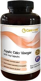 Carewell Apple Cider Vinegar 500 Mg Capsules