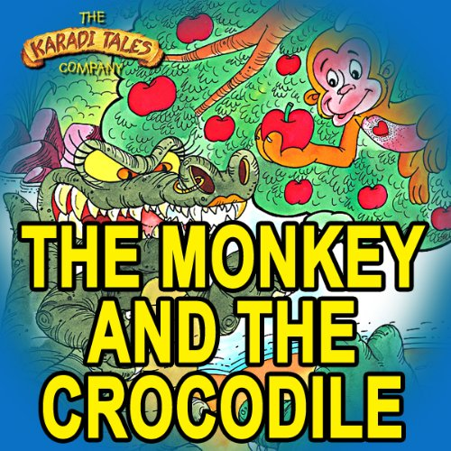 The Monkey and the Crocodile audiobook cover art