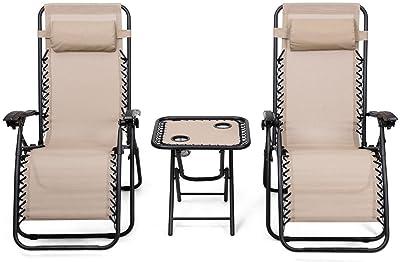Amazon.com: POCHDUDY - 2 sillas de salón portátiles para ...