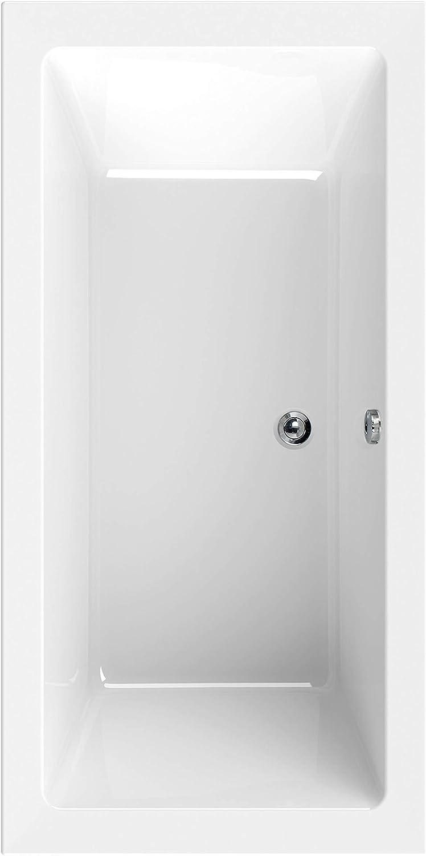 Calmwaters - Jarron - Rechteckige Duo-Badewanne aus Acryl für zwei Personen in 200 x 90 cm mit Krperform - 02SL3323