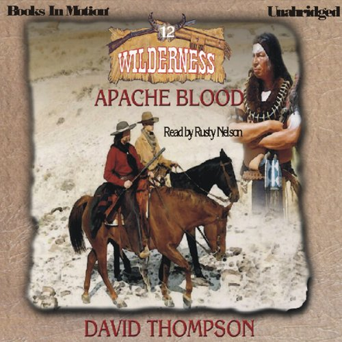Apache Blood audiobook cover art