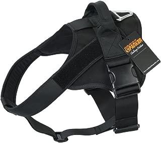 EXCELLENT ELITE SPANKER Tactical Dog Harness Military Patrol K9 Dog Harness Service Dog Vest Nylon Working Dog Vest with Handle