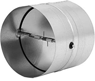 """Backdraft Damper Duct - Draft Stopper - Backflow Preventer (4"""" inch / 100mm)"""