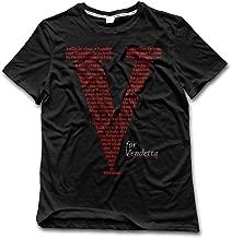Very Pretty V For Vendetta Men Short-sleeves Comfy