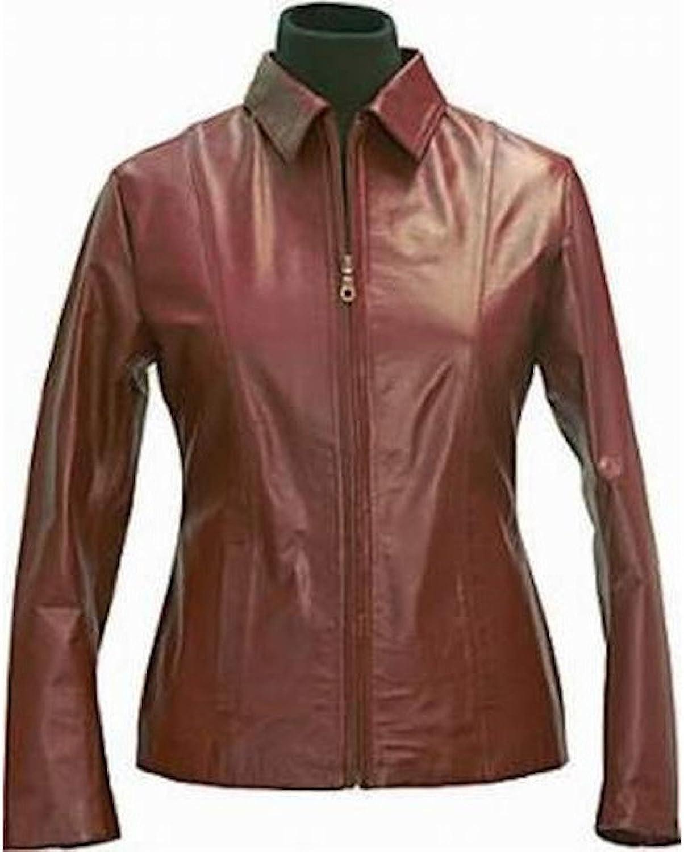 Fadcloset Hemet Womens Leather Jacket