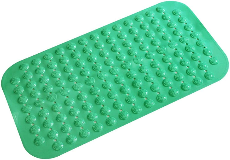 Qwyh89 Dot Badezimmer Anti-Rutsch-Matte Badezimmer Anti-Rutsch-Matte Bad Dusche Duschmatte, 37  68cm, grün 1 B07PWDYKTQ