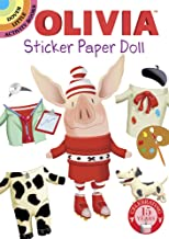 Olivia Sticker Paper Doll (Dover Little Activity Books Stickers)