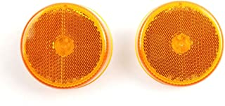 Triton 03521 Amber 2.5 Inch Round Clearance Sidemarker Light 2 Pack