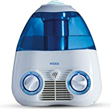 Vicks Starry Night Filtered Cool Mist Humidifier, Medium to Large Rooms, 1 Gallon Tank – Cool Mist Humidifier for Baby and...