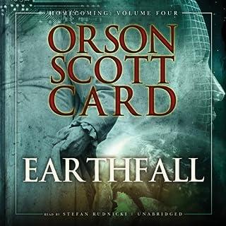 Earthfall audiobook cover art