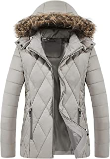 Womens Winter Lightweight Packable Down Coat Puffer Jacket with Removable Hood(Not for Big Women)