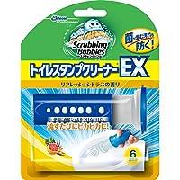 スクラビングバブル トイレ洗浄 トイレスタンプクリーナー トイレスタンプEX リフレッシュシトラスの香り 本体(ハンドル1本+替え1本) 38g