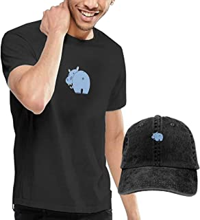 Weird Hippo Fashion Men's T-Shirt and Hats Youth & Adult T-Shirts
