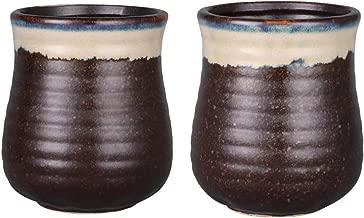 Sunddo Japanese Tea Cups Ceramic Teacup Mug Set of 2 12oz